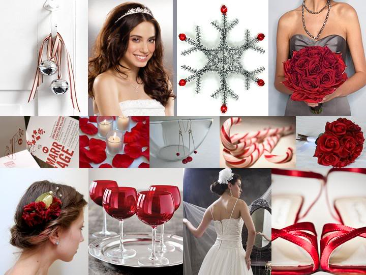 Como decorar una boda navideña