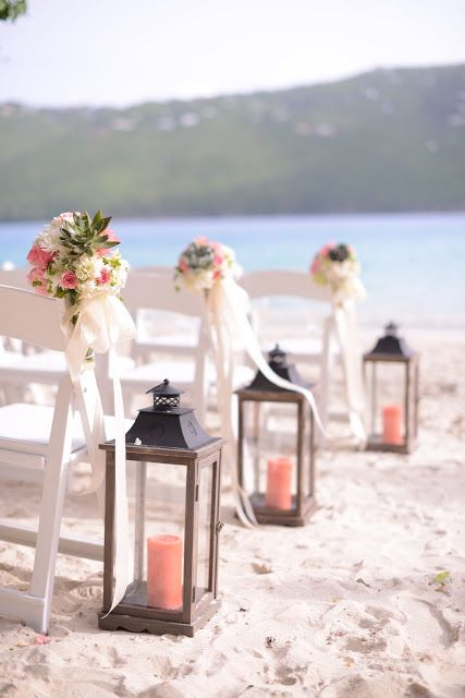 como decorar boda en la playa