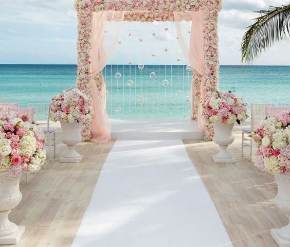 Ideas para decorar una boda en la playa - Ideas para una boda en la playa ...