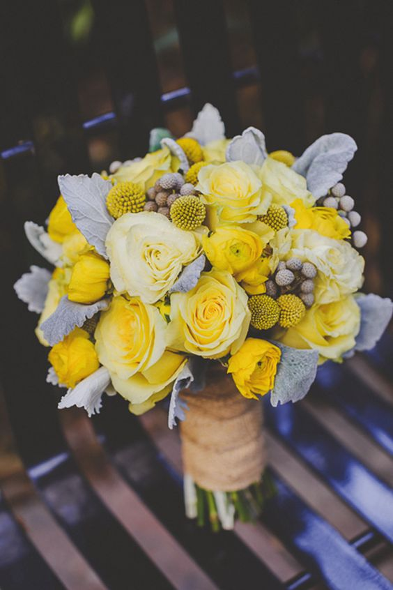 ideas para boda color amarillo