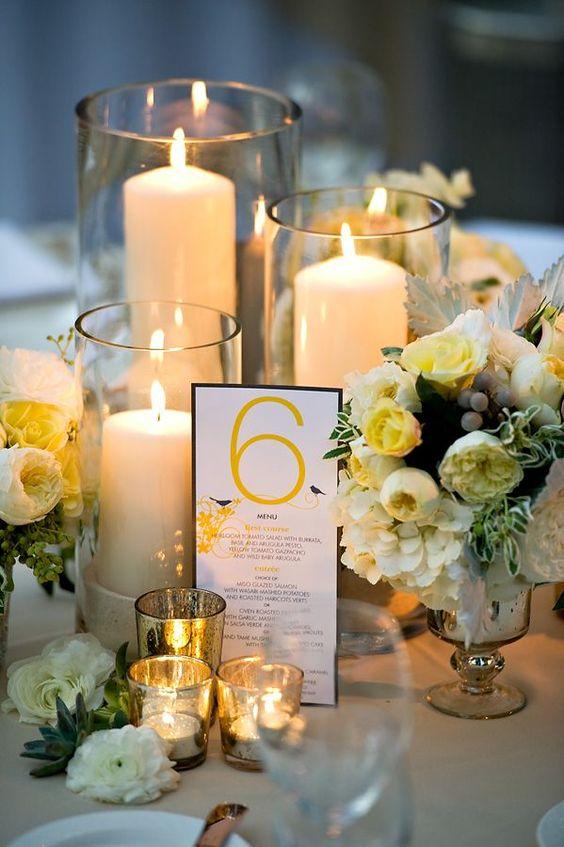 Cómo decorar una boda color amarillo