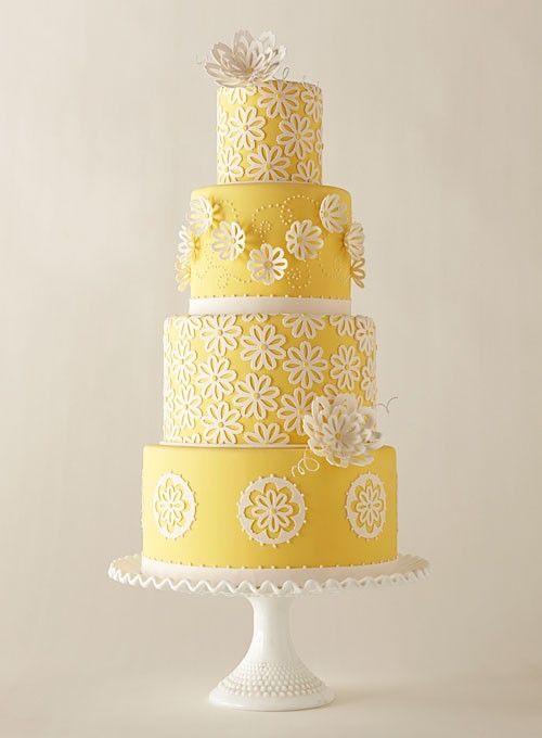 ideas boda color amarillo