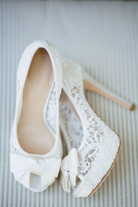 Cómo elegir los zapato de novia