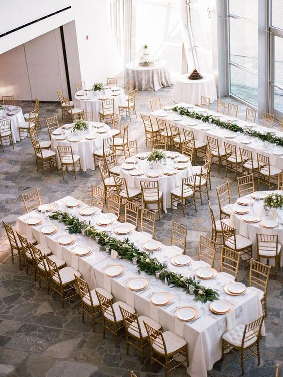 tipos de mesas para bodas