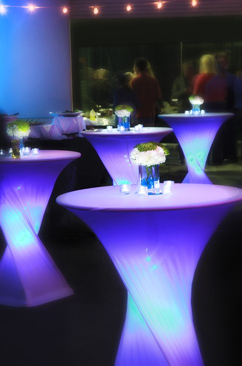 Luces led para bodas iluminacion de colores para decorar for Luces led para decorar