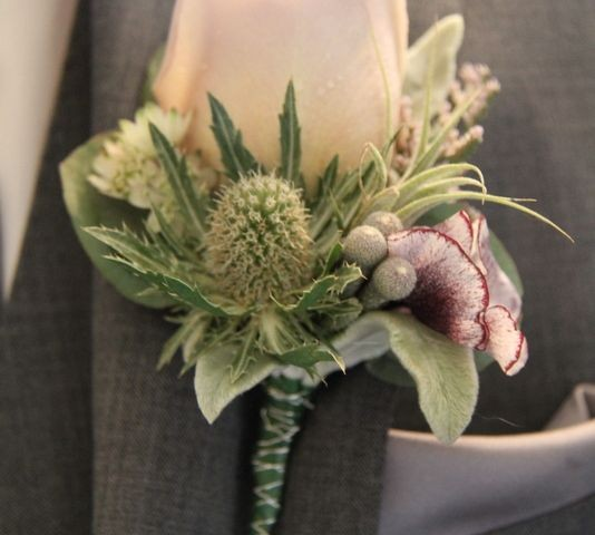 botoniers para bodas