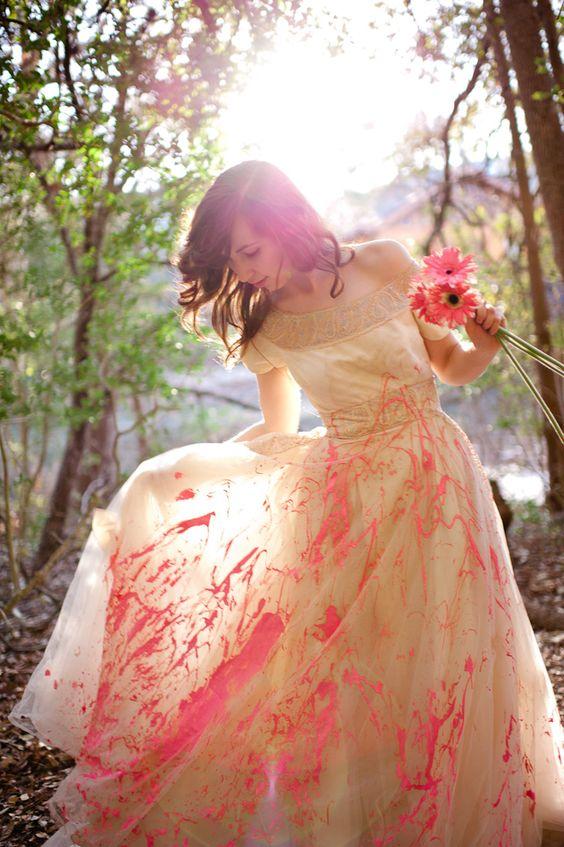 Sesión Trash the Dress para una Boda