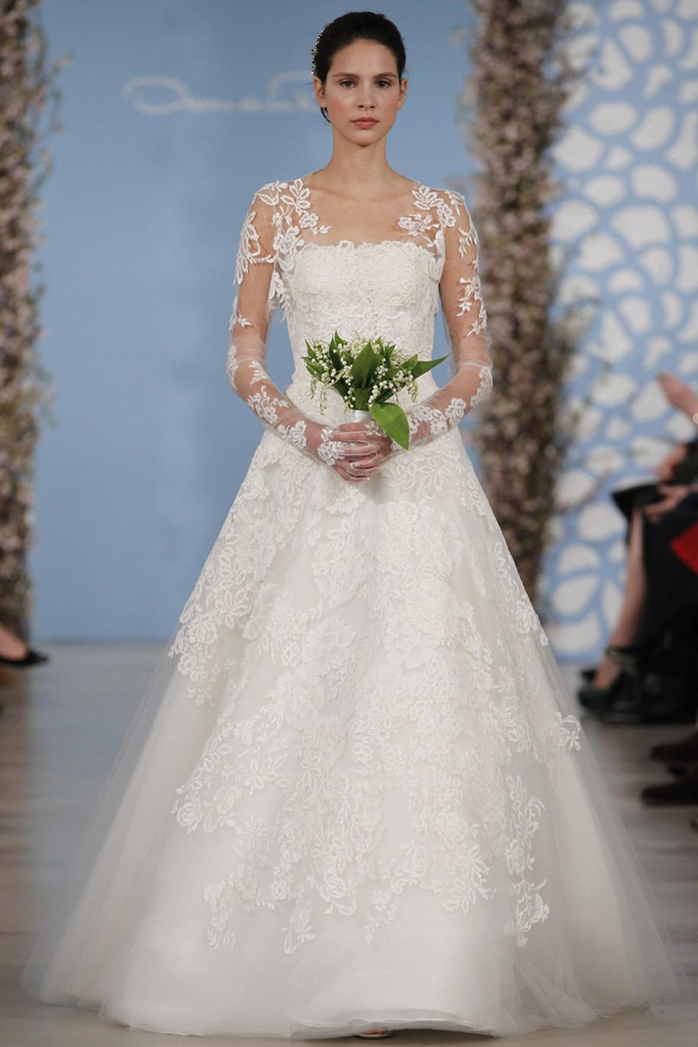 vestidos de novia invierno 2016