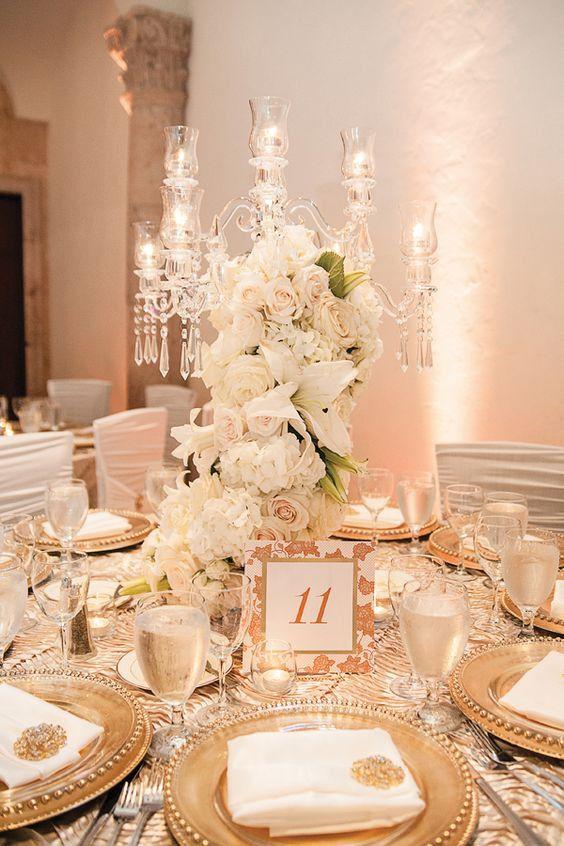Increíbles centros de mesa para tu boda 2017