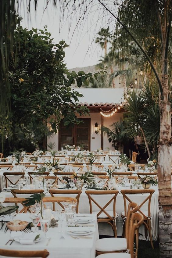 boda estilo Tropical Glam