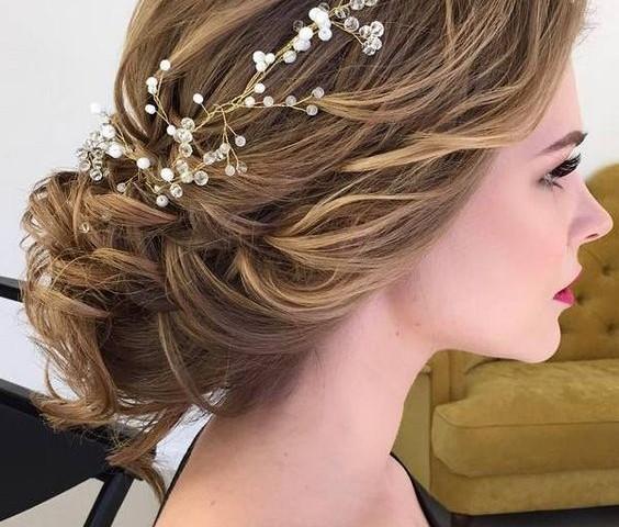 Peinados para las damas de honor en boda pr - Peinados elegantes para una boda ...
