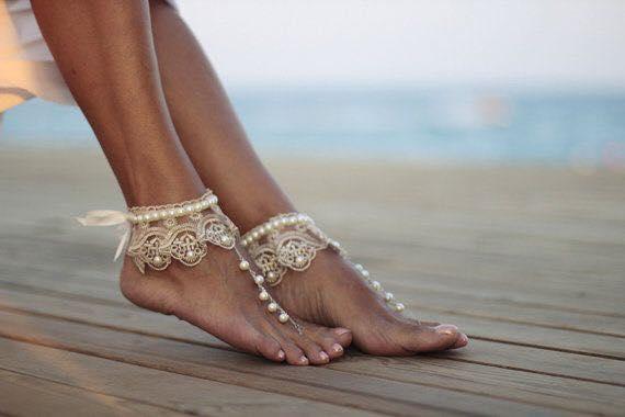 sandalias descalzas para bodas