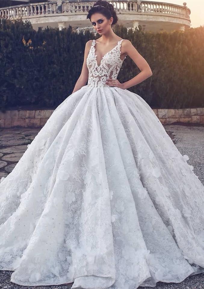 Elegantes vestidos de novia