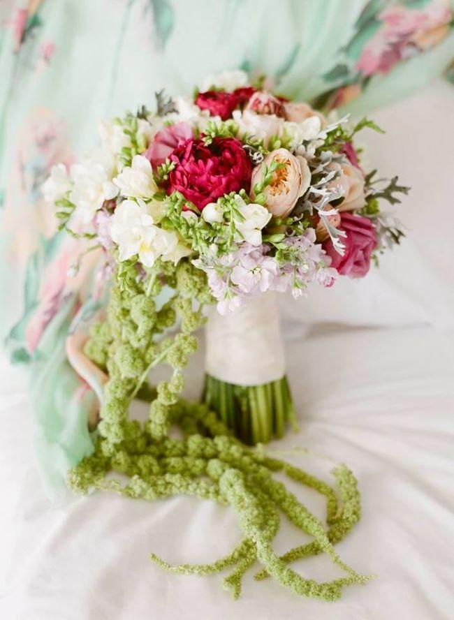 ramos con peonies para bodas