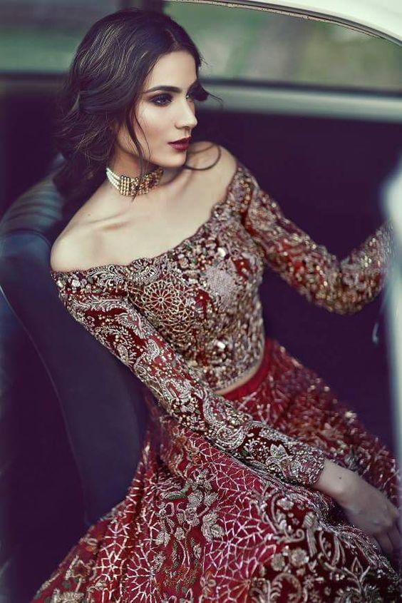 vestidos de novia rojos