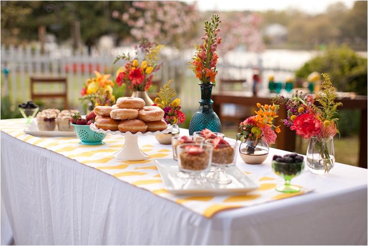 buffet de desayuno para bodas