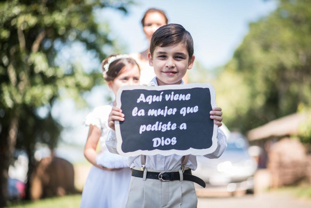 carteles para anunciar a la novia