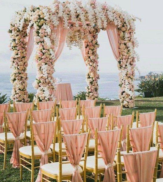 gazebos para bodas en la playa