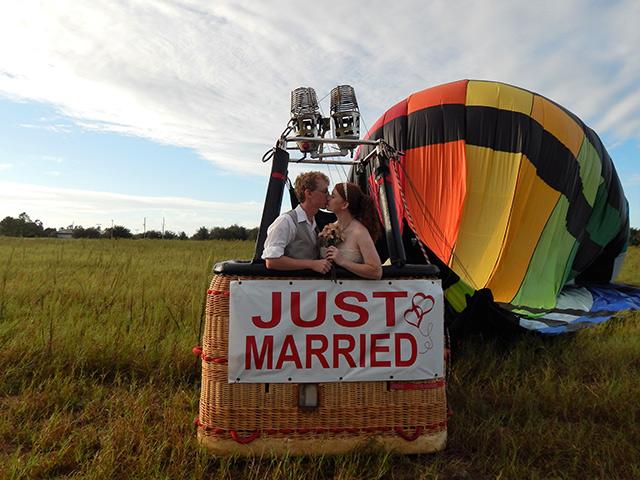 bodas en globo