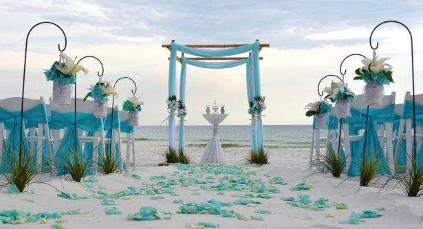 ideas de gazebos para bodas en la playa