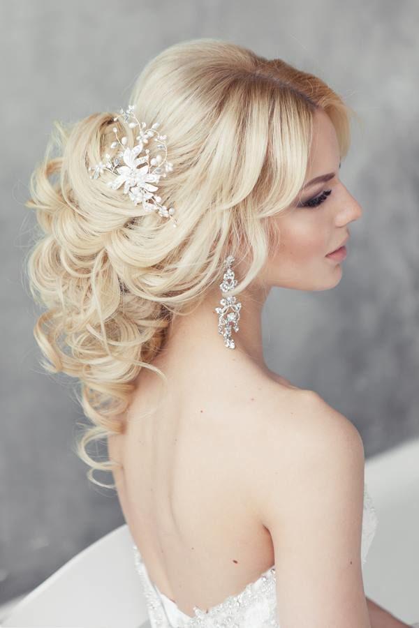 peinado novia verano