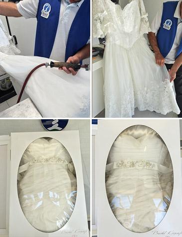 limpieza vestido nupcial