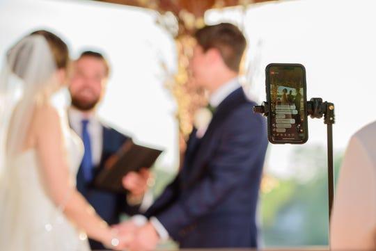 mini boda en la pandemia