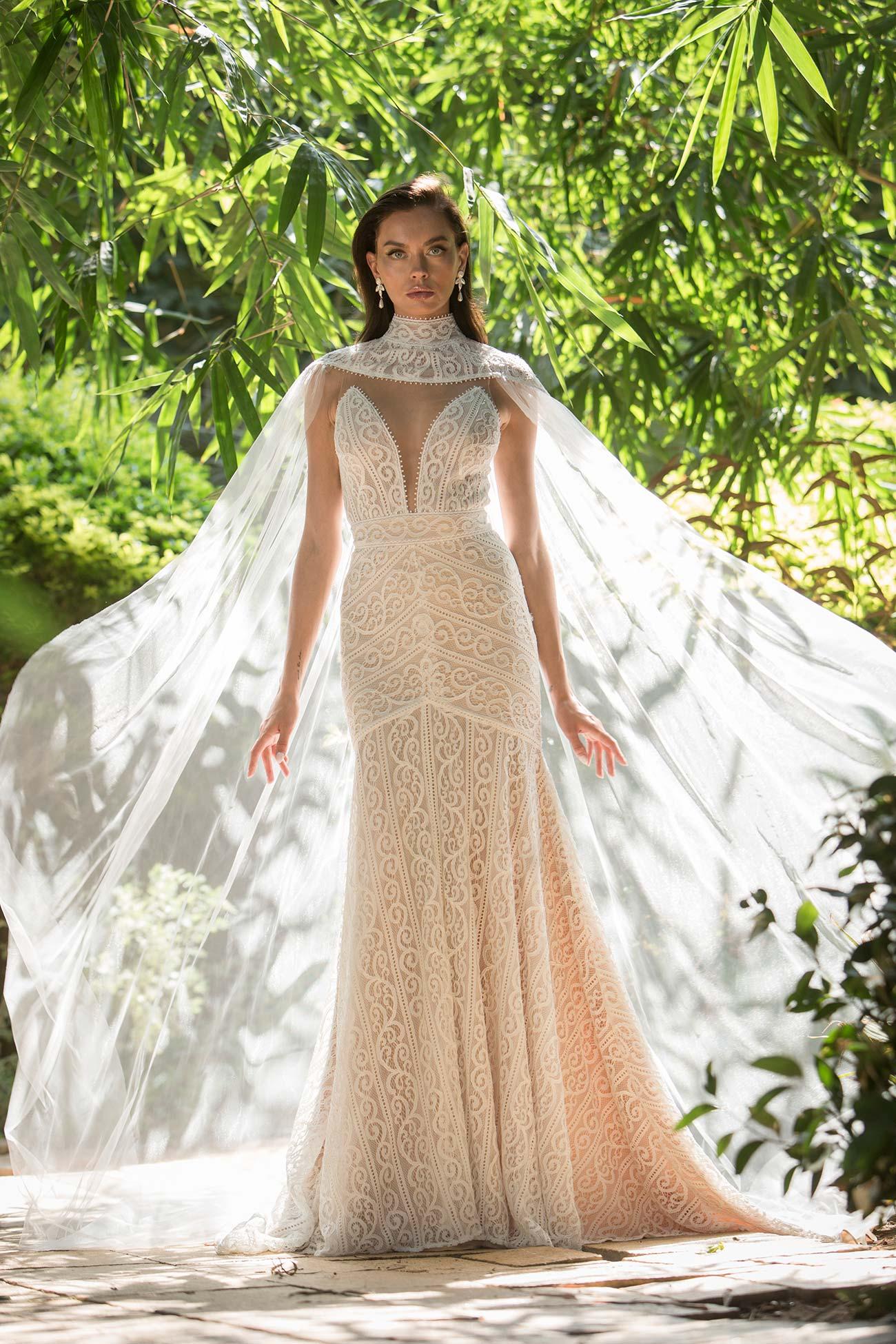 vestidos de novia en encajes