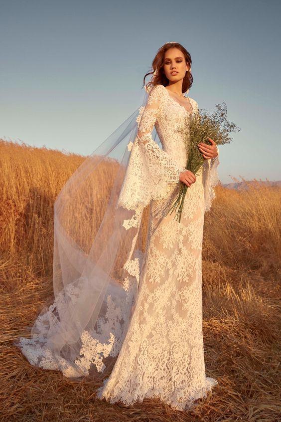 vestidos de novia Otoño Invierno 2020