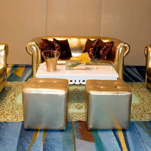 Ideas para una boda color dorado