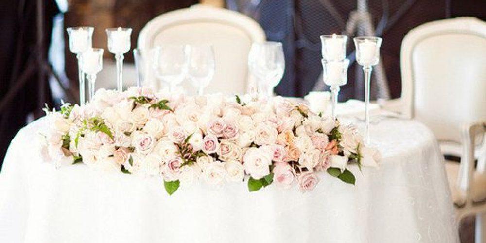 Ideas para decorar la mesa presidencial o mesa de honor