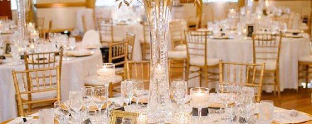 Decoración de mesas para la celebración de tu boda