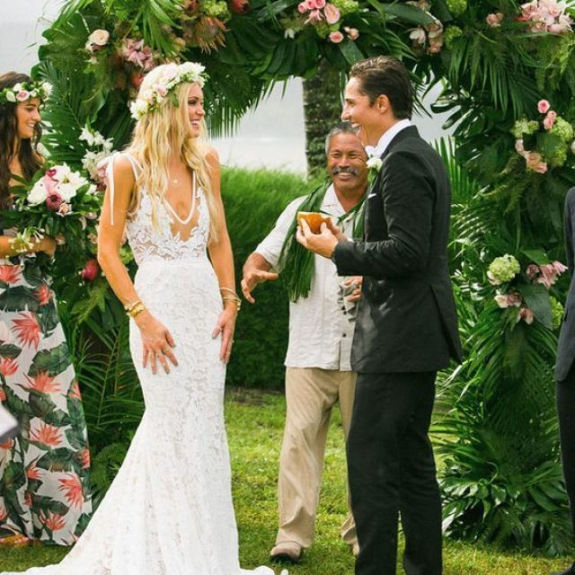 Ideas organizar una boda estilo Tropical Glam