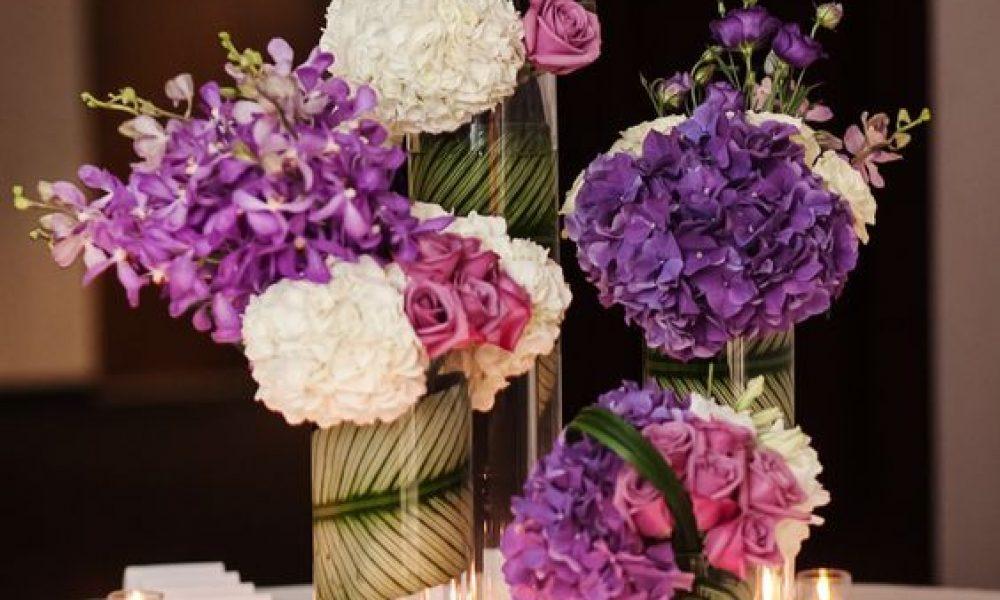 Increíbles centros de mesa para tu boda