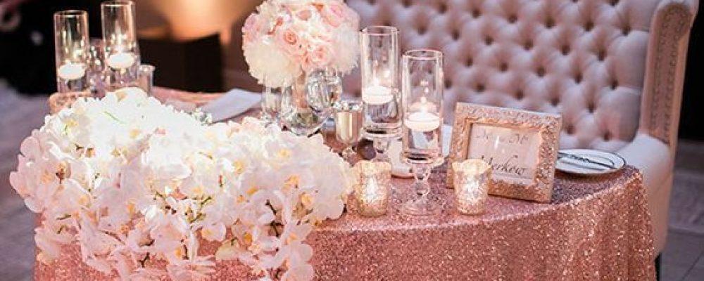 Una Boda Rosa Gold : Elegancia Metálica