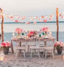 Una romántica Boda en la Playa
