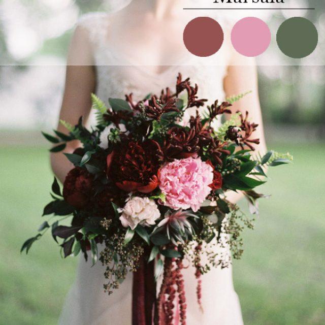 Marsala: color 2015 para tu BODA