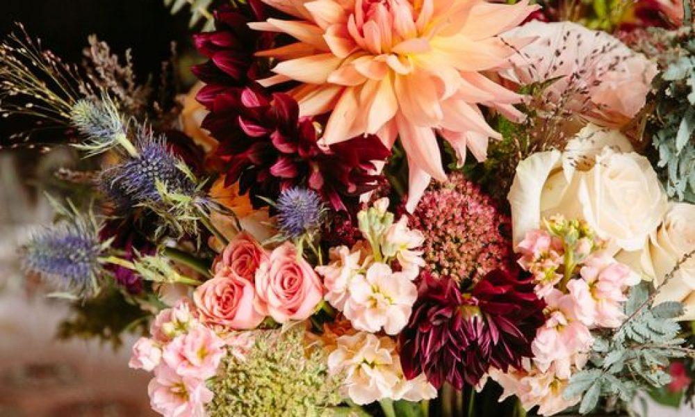centros de mesa boda otoño
