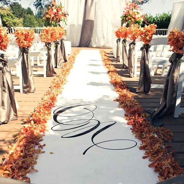 Ideas para decorar una Boda en Otoño