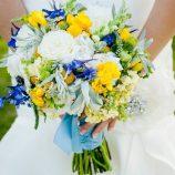 Fotos de Bodas Azul y Amarillo