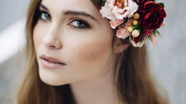 Maquillaje de otoño para novias:¡mira las ideas!