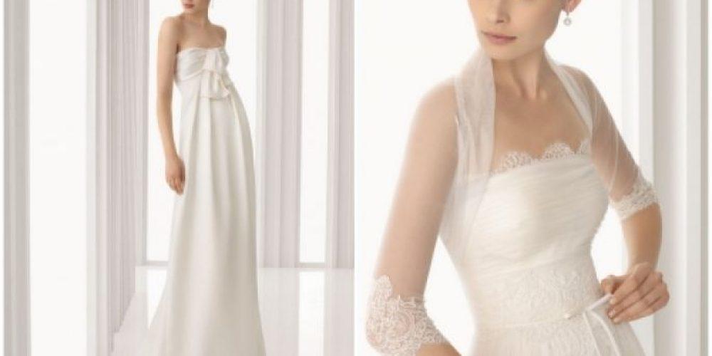 Elige el vestido de novia según tu figura
