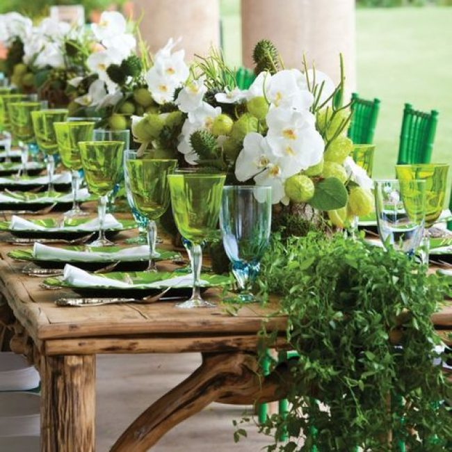 Greenery: color del año 2017 para Bodas