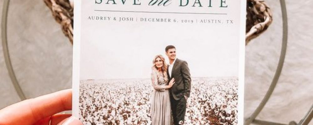 ¿Qué es el Save the Date? Originales Ideas