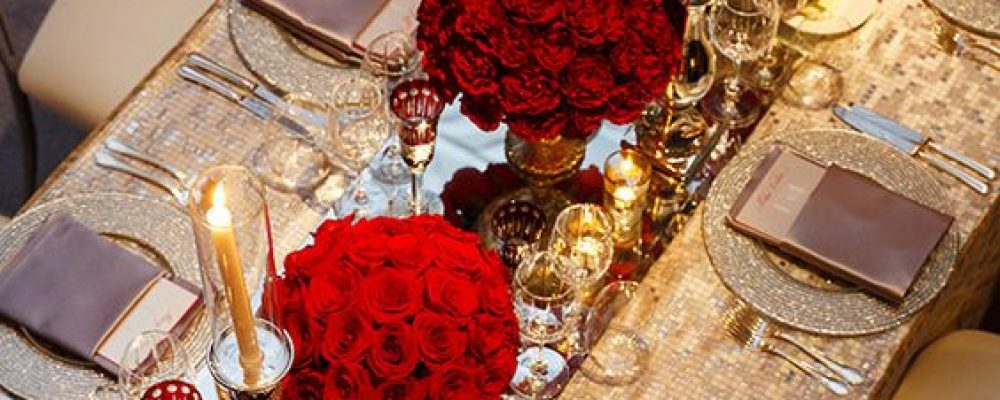 Ideas para una Boda color Rojo
