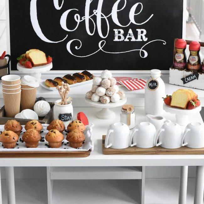 Coffee bar para una boda: ¡con aroma a café!