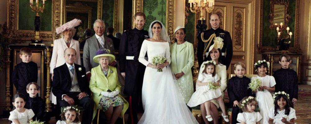 Mira las fotos oficiales de la boda real de Harry y Meghan