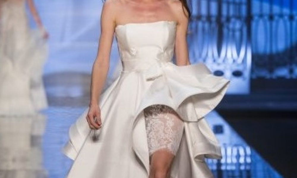 Vestidos de novia originales: ¿te atreves?