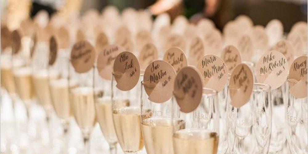 Ideas para el cocktail de bienvenida de la boda