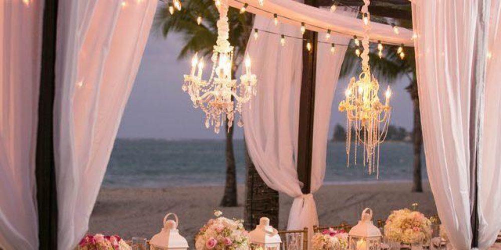 Una boda veraniega con mucho glamour